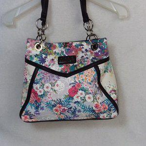 NICOLE MILLER Pastel Floral Shoulder bag